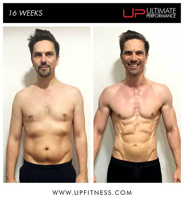 Mike's 16 week transformations