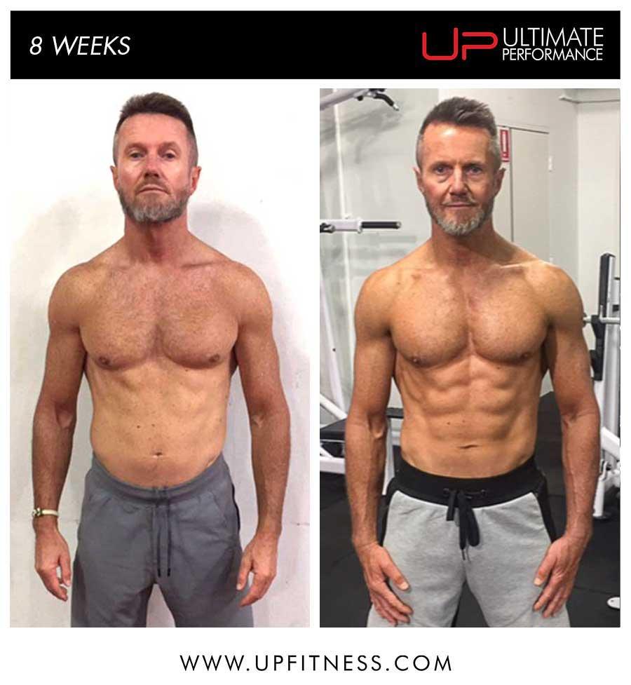 Steve's 8 week transformation