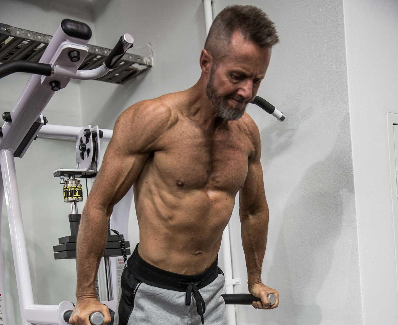 Steve - 8 week male transformation results