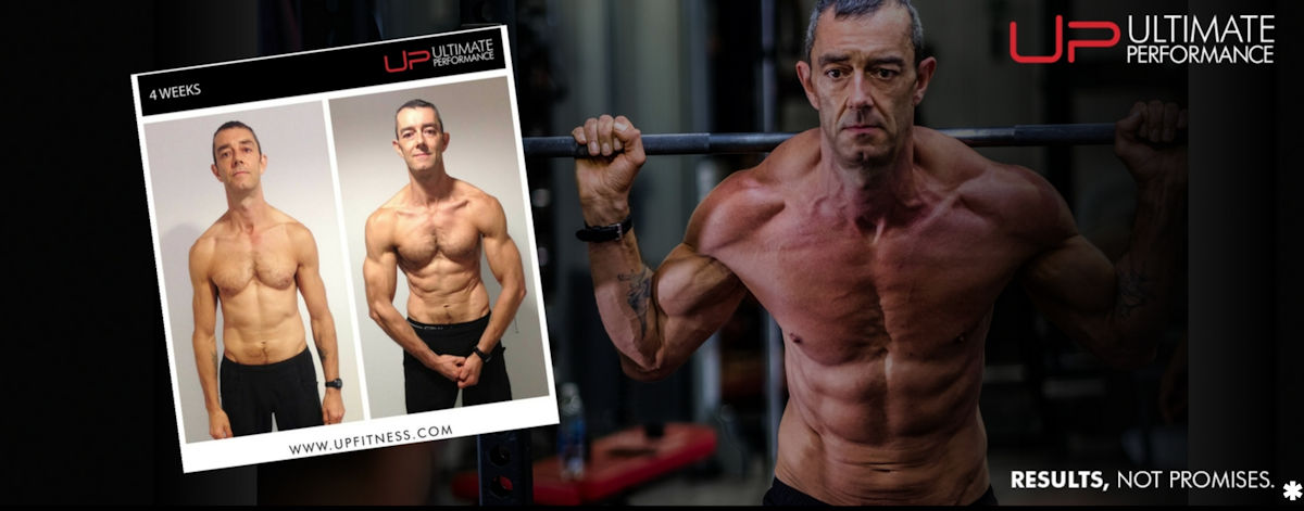 Grandad Paul's 4 week transformation