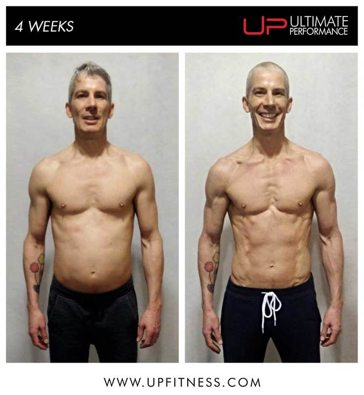 Andrew's 4 week transformation