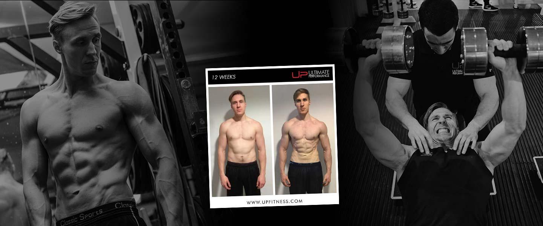 Arthur's 12 week transformation