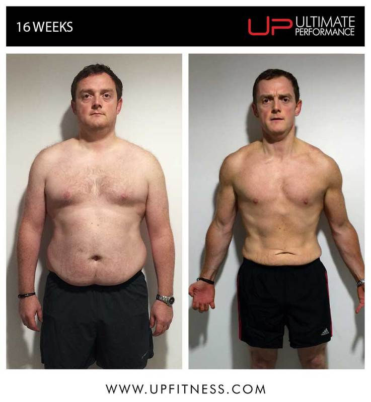 Chris's 16 week transformation