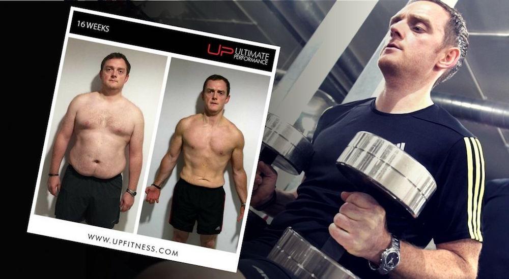 Chris's 16 week transformation