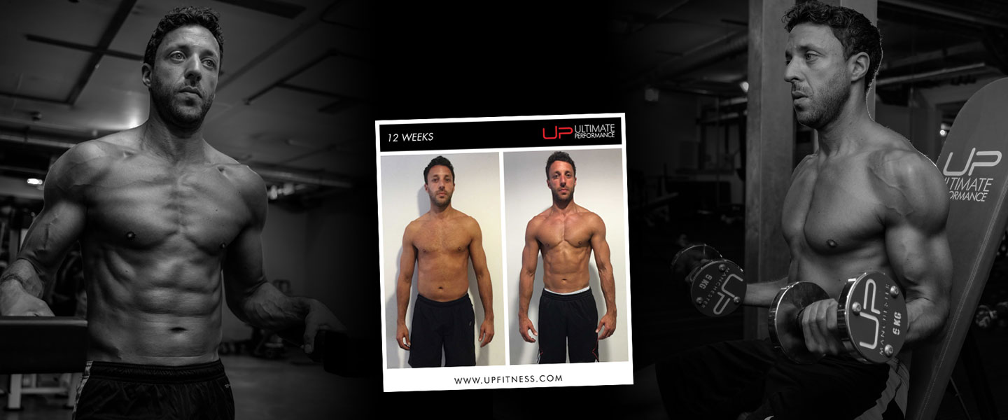 12 week male transformation results - Marc