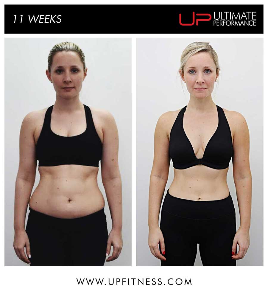 Sarah 11 week transformation results
