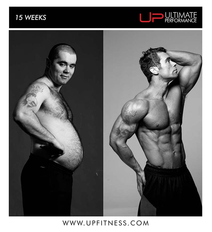 Glenn 15 week transformation results