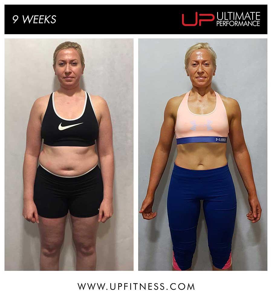 Marta 9 week transformation