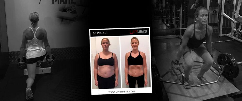 Female 20 week fat loss