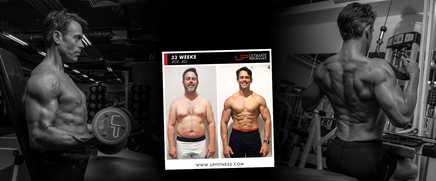 Andy H - 33 week amazing fat loss