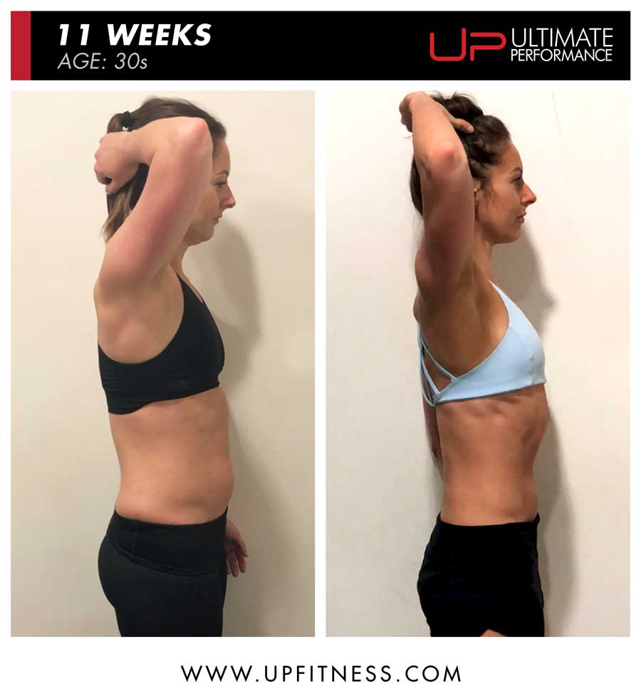 Jennifer - side body transformation results