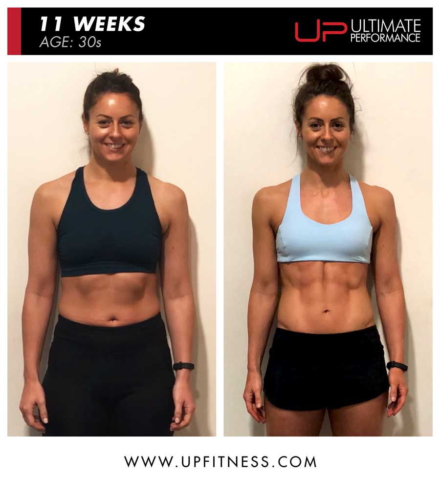 Jennifer - 11 week fat loss results