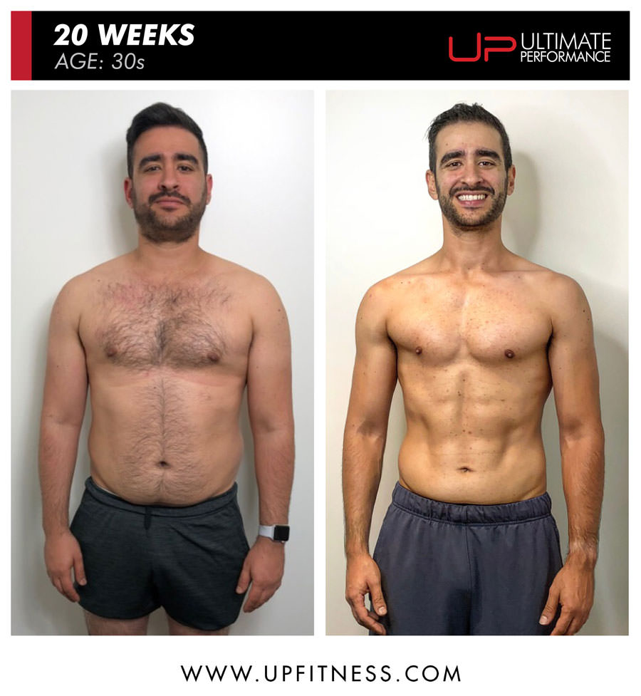Oren body transformation with U.P.