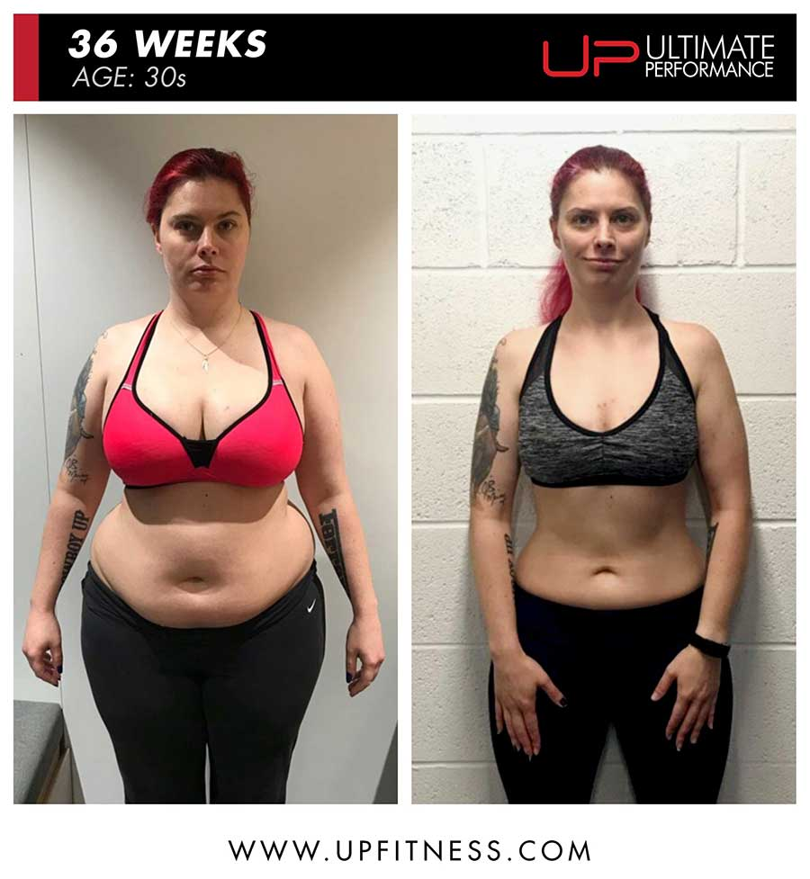 Katherine M 36 week female fat loss