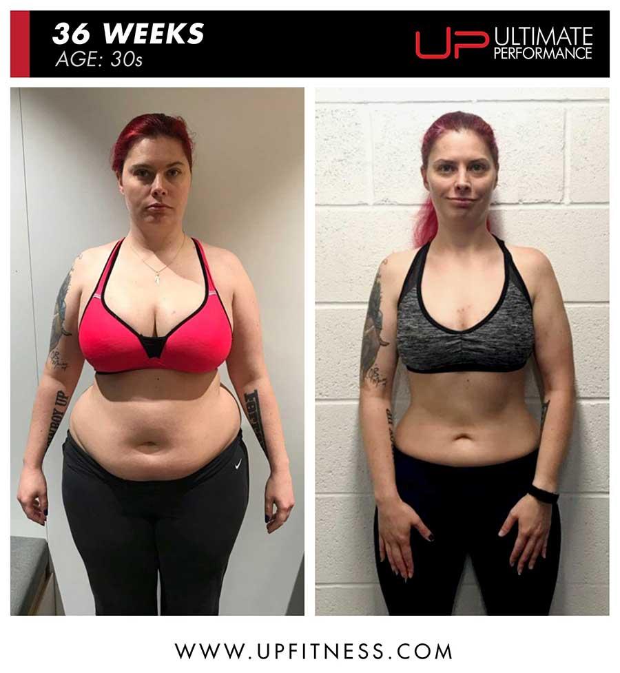 Katherine M 36 week female fat loss