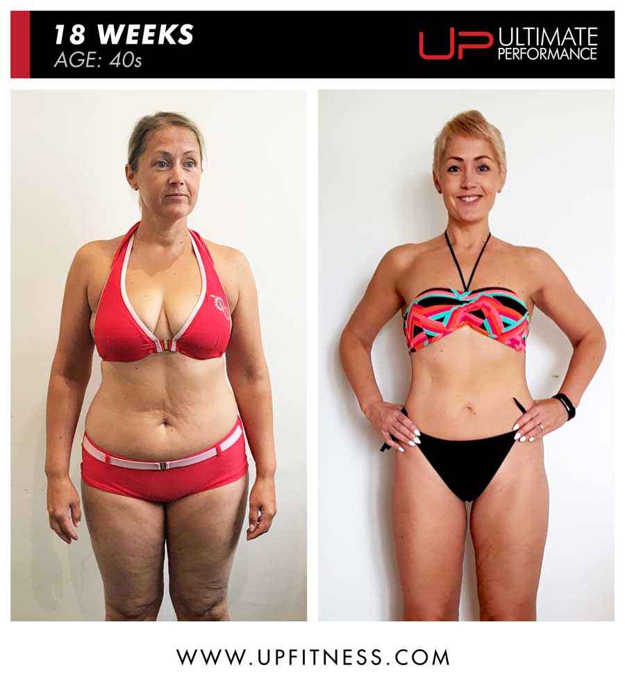 Minna 18 week amazing female fat loss