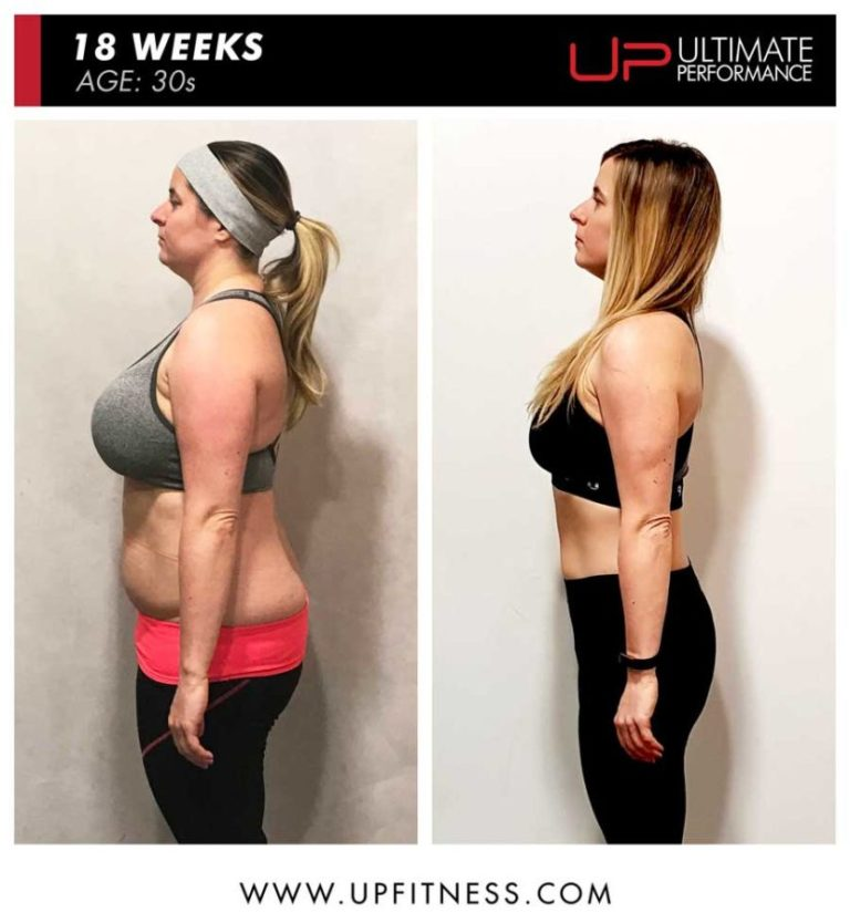 Kelly 18 week female fat loss