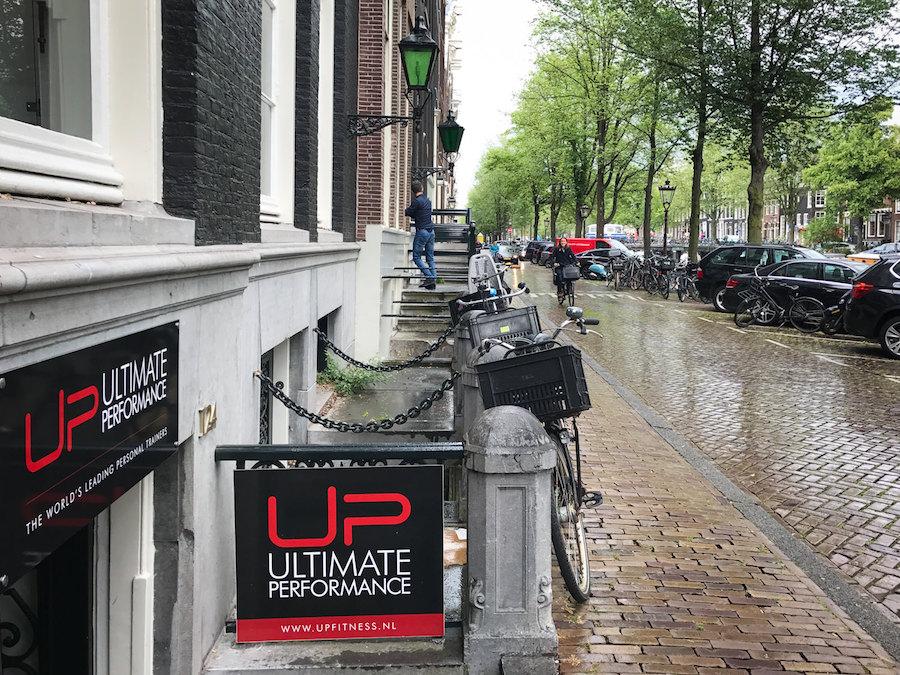 UP Amsterdam street entrance