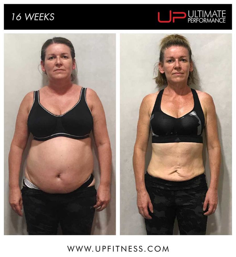 Mags 16 week fat loss transformation
