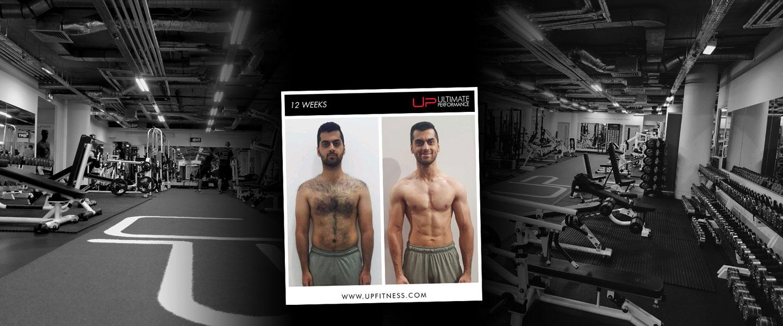 Haroon 12 week transformation