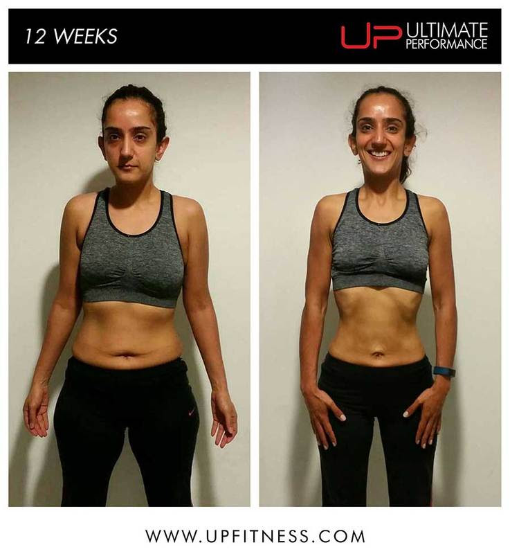Sandi 12 week female transformation - front