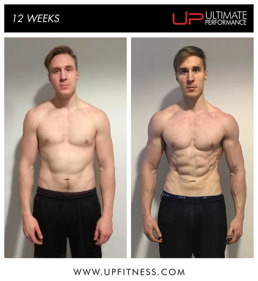 Arthur's 12 week transformation