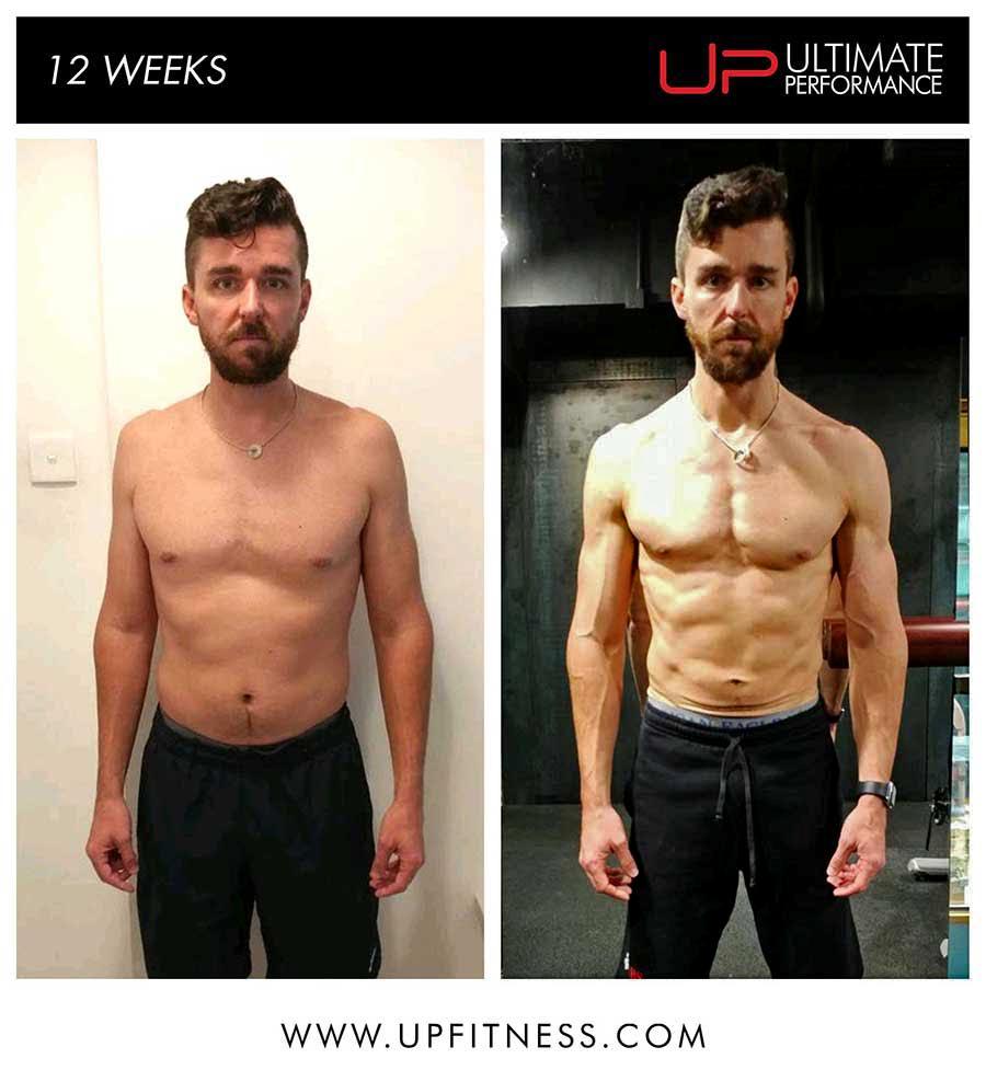 Ryan's 12 week transformation