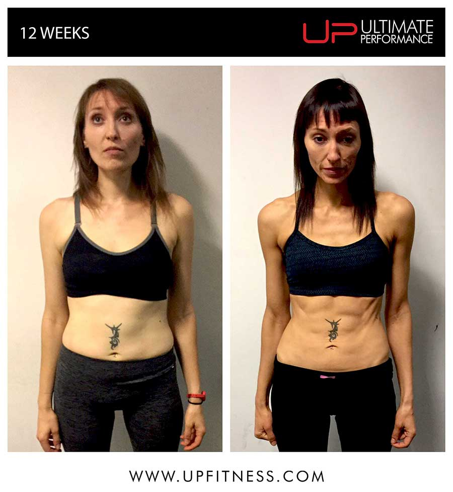Emma's 12 week transformation