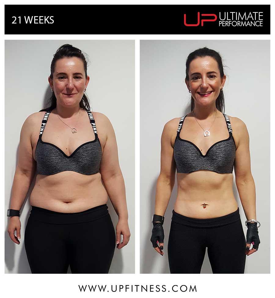 Rachael 21 weeks results