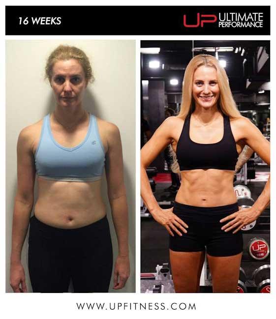 Shiona's 16 week transformation