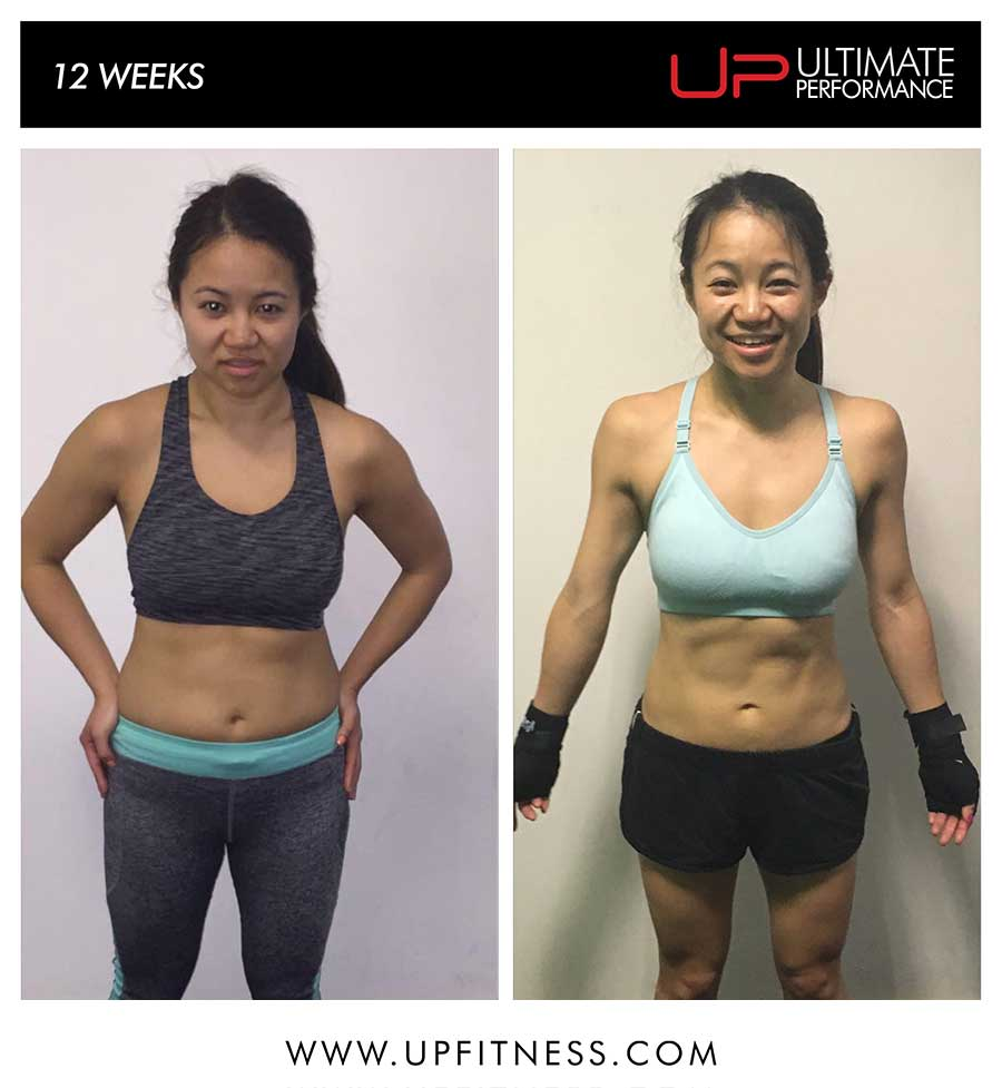 Elaine's 12 week transformation