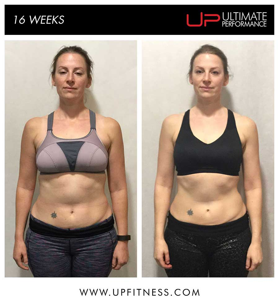 Alice's 16 week transformation