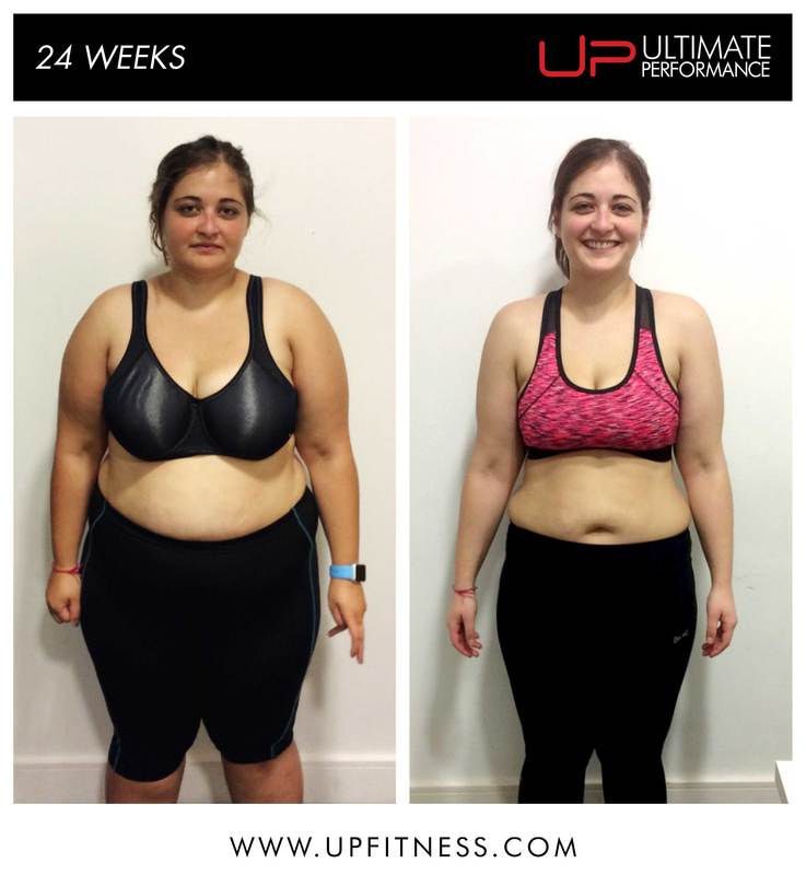 Filiz's 24 week transformation