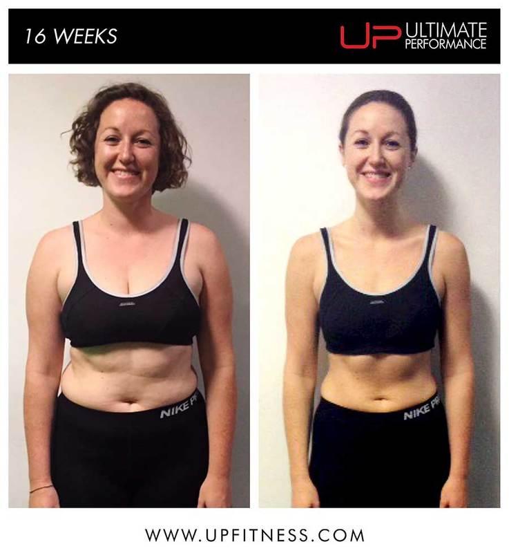 Rose's 16 week transformation