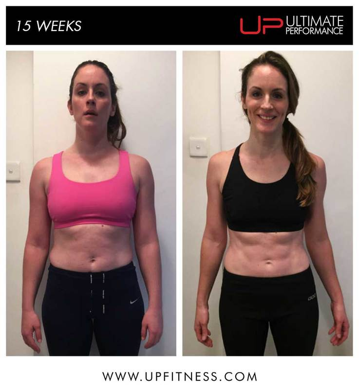 Jen's 15 week transformation
