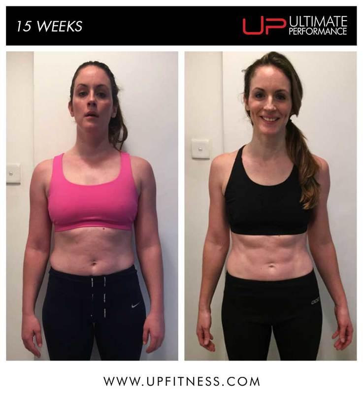 Jen's 15 week transformation