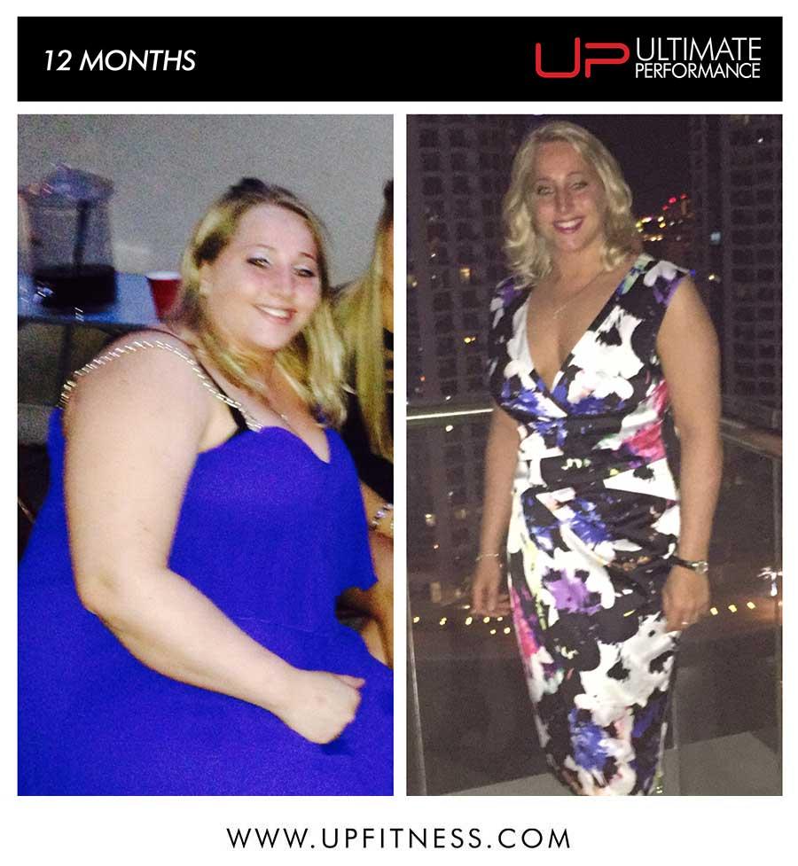 Jen's 12 Month Transformation
