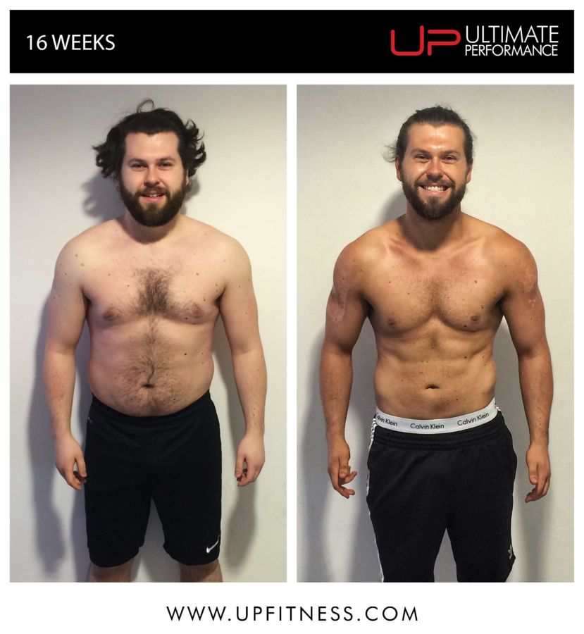 Sam's 16 Week Transformation