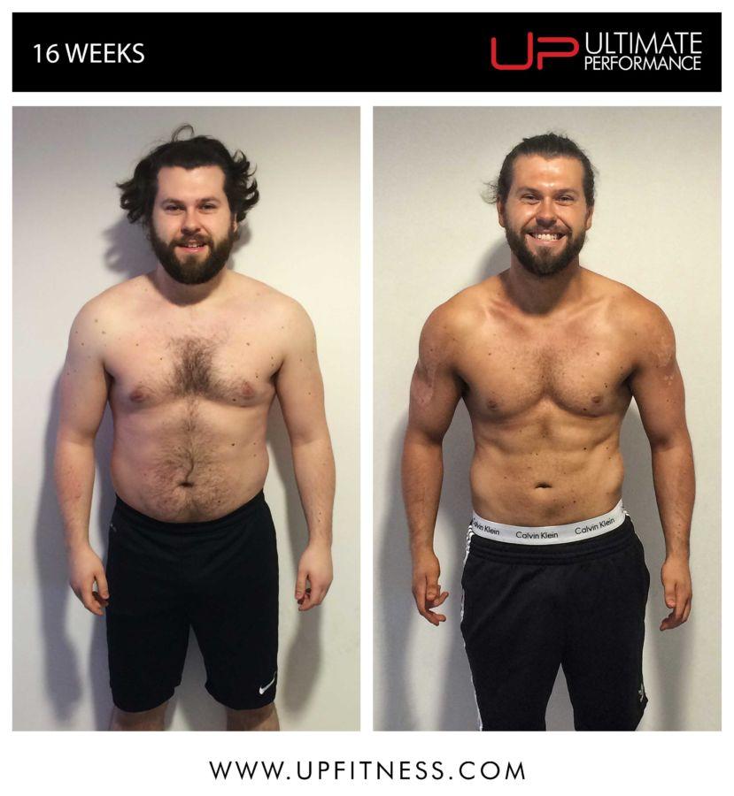 Sam's 16 Week Transformation