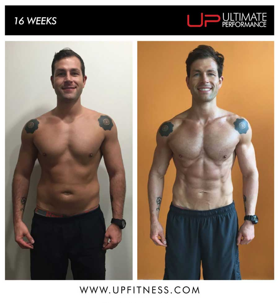 Thomas's 16 Week Transformation