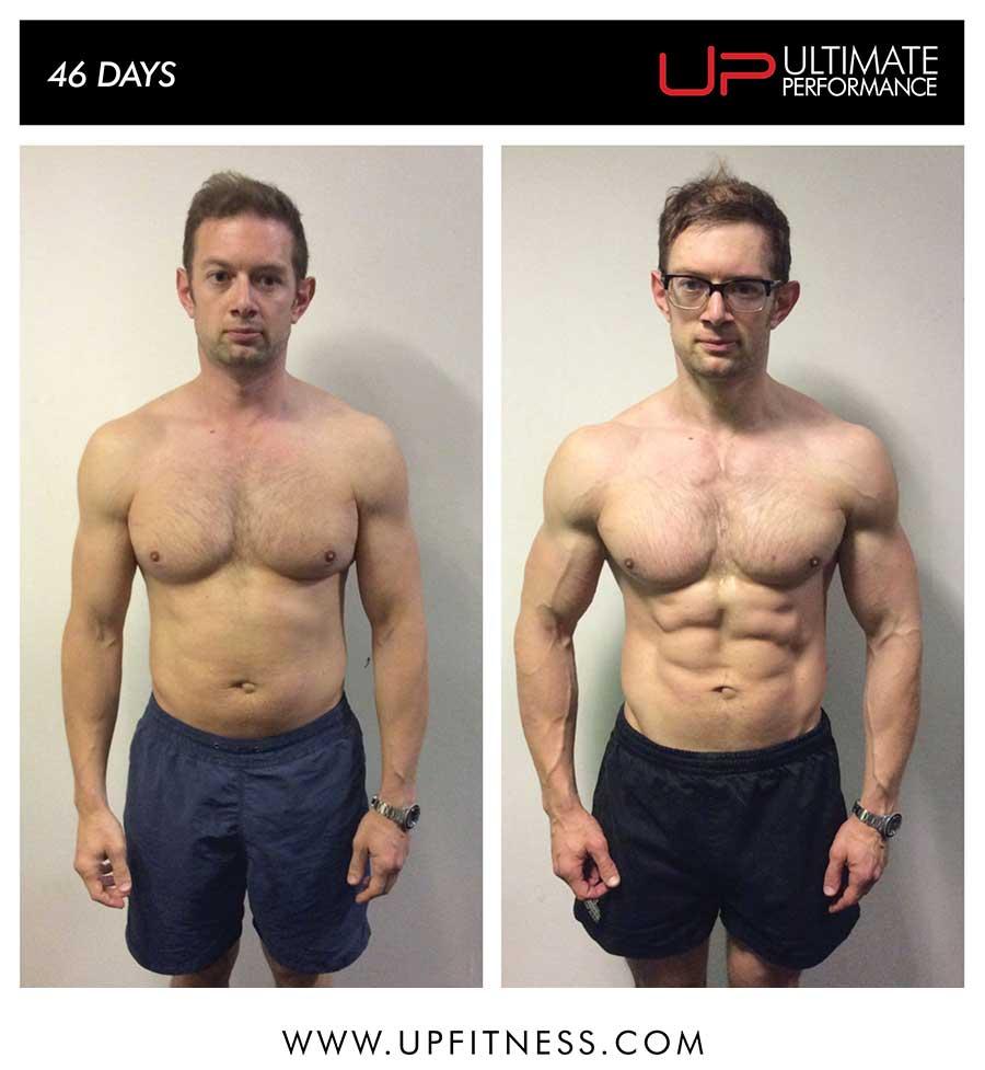 DAvid's 9 week transformation