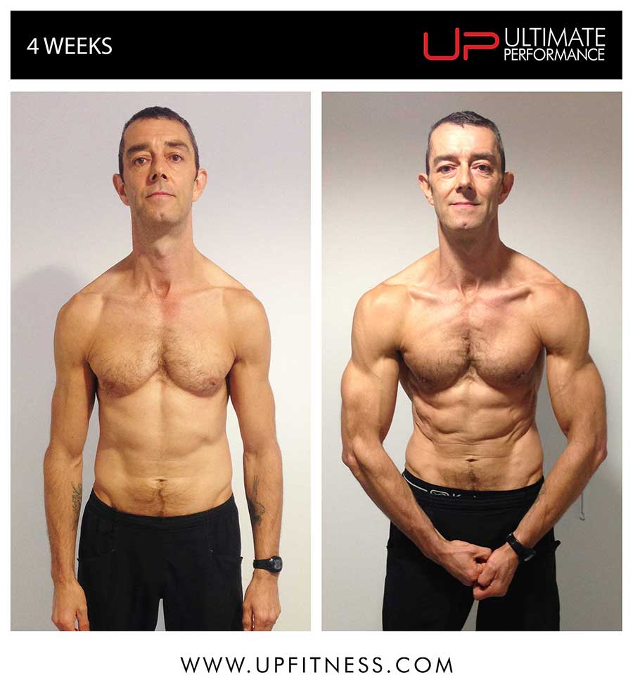 Paul's 4 week transformation