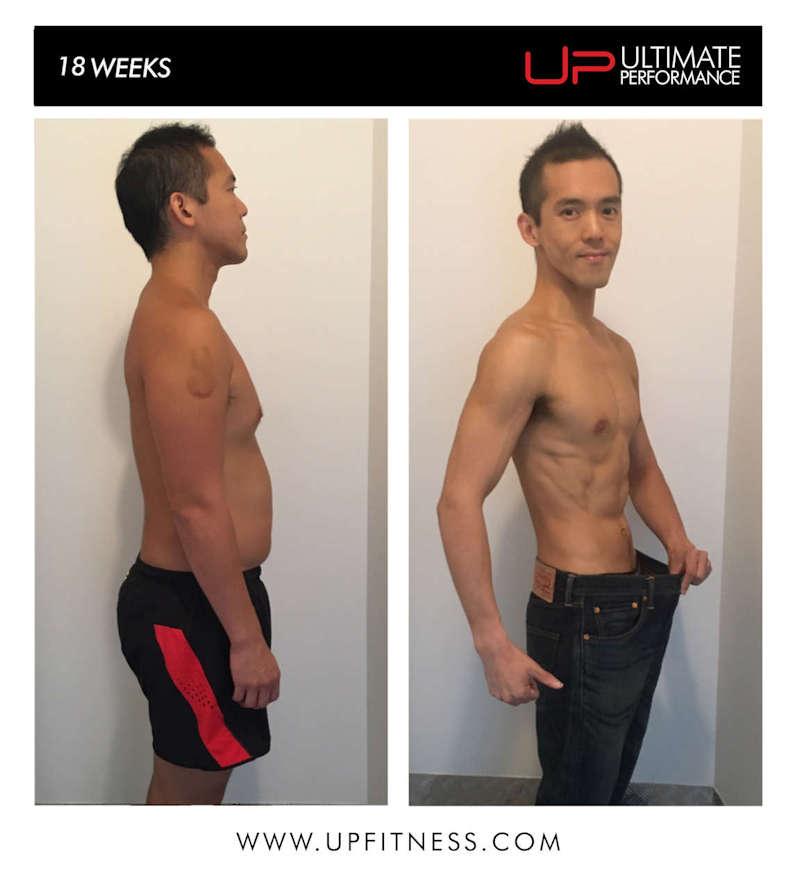 18 week transformation side