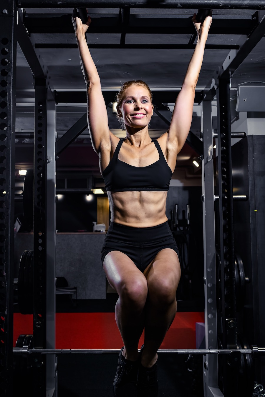 Catherine   Body Transformation   In the gym