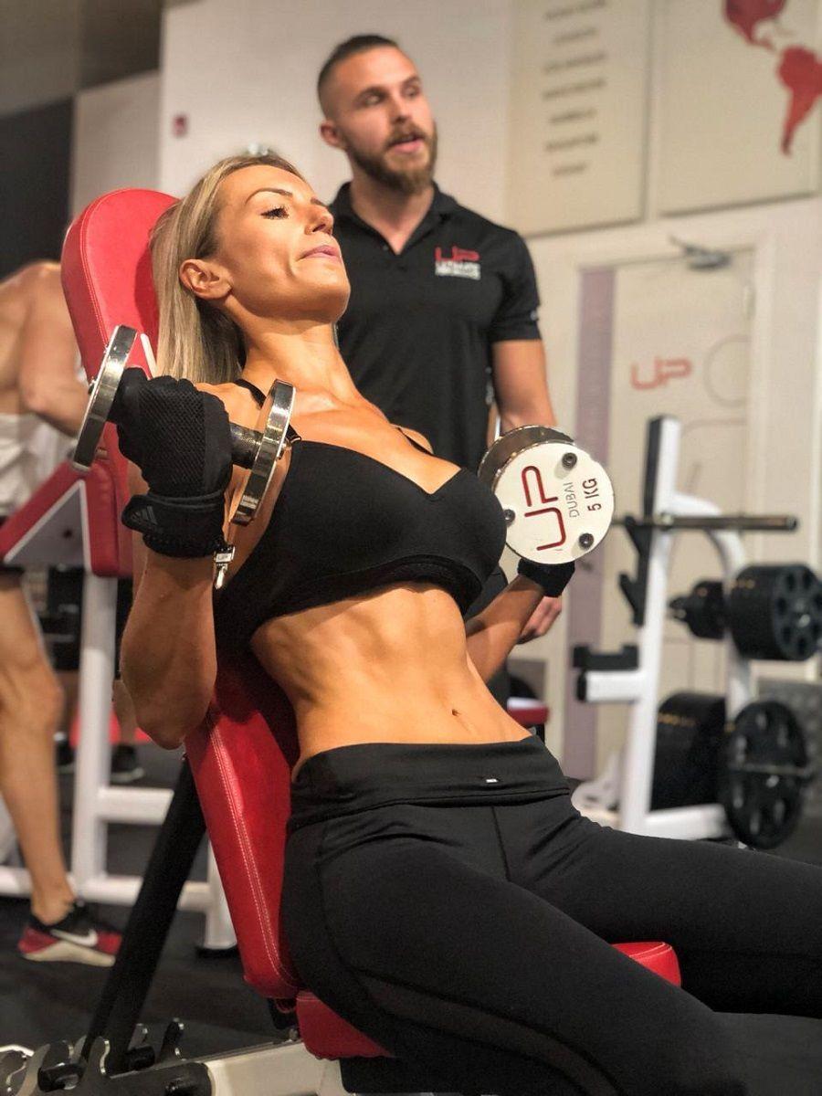 Jen | Body Transformation | In the gym