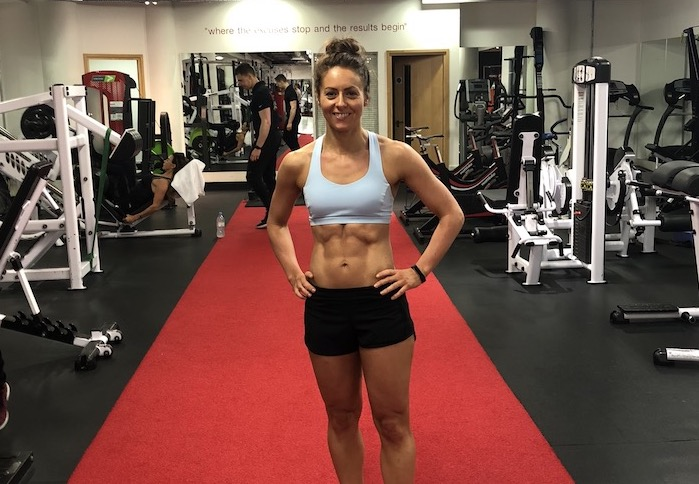 Jennifer - six pack abs