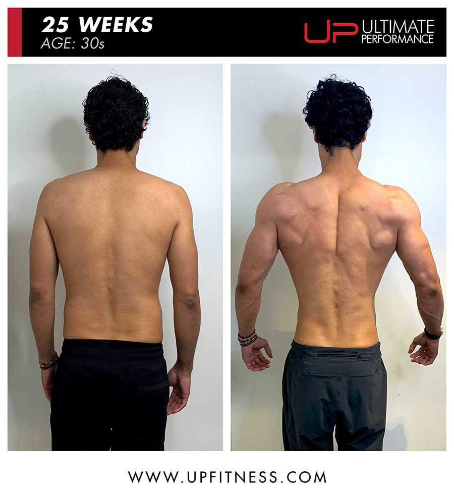 Jonny Cruz | Body Transformation | Back