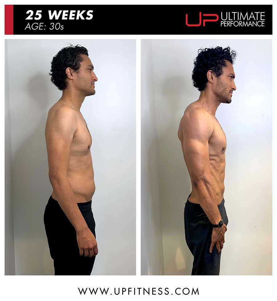 Jonny Cruz | Body Transformation | Side