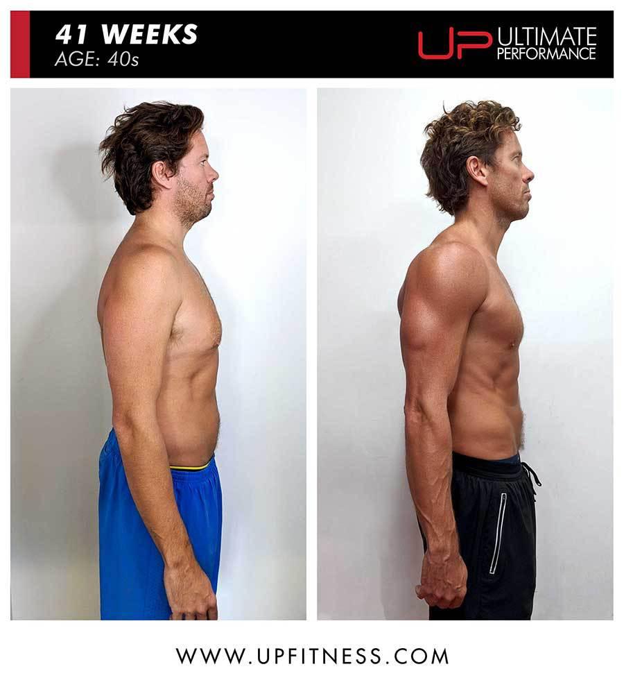 Lachie   Body Transformation   Side