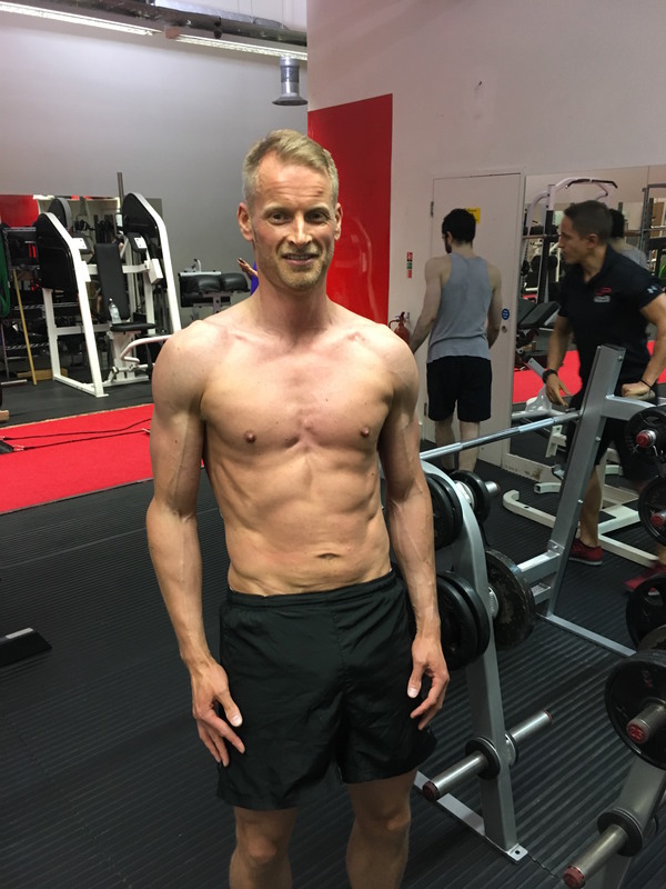 Neil 14 week transformation results